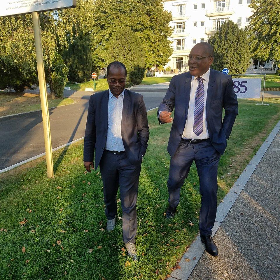 Paris: le général Konaté reçoit le député Ousmane Gaoual et flingue les