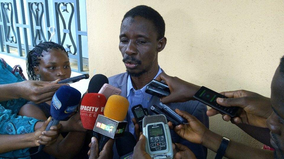 « La paix est menacée en Guinée...», regrette le président du CNOSC-DDG
