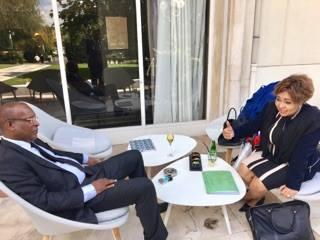 Affaire 3e mandat: ce que Marie Madeleine Dioubaté et le général Konaté se sont dits