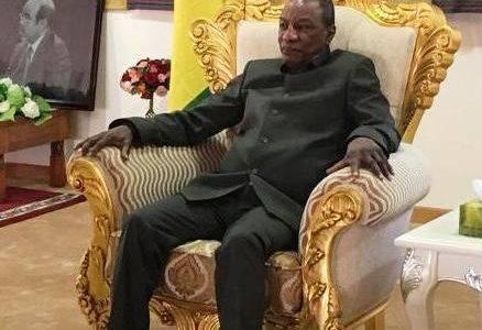 Alpha Condé attendu mardi à Conakry