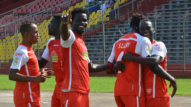Ligue 1: le Horoya AC humilie le CO Coyah
