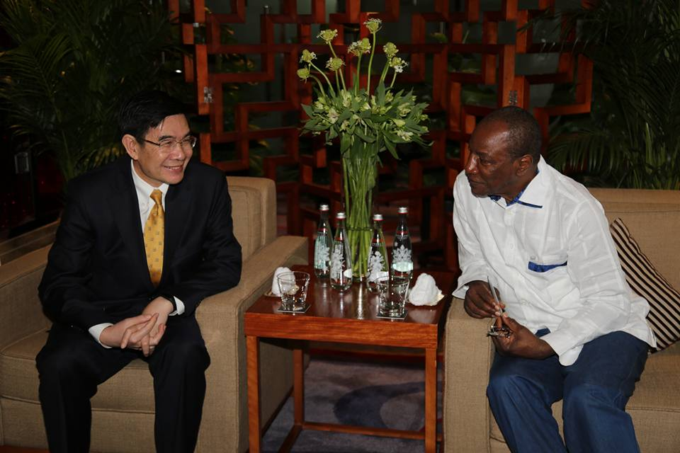 Chine: Alpha Condé rencontre le patron de CHINALCO