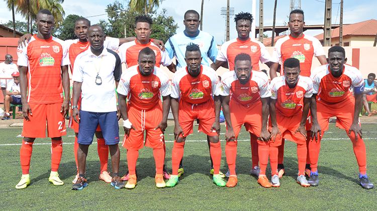 Ligue 1: Ouedrago du Horoya AC vise le podium des buteurs