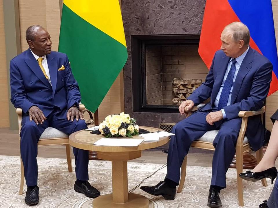 Poutine: les investisseurs russes lorgnent sur la Guinée