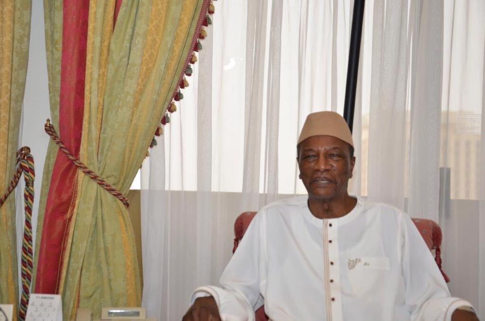 Ce que Alpha Condé promet aux Guinéens juste avant son départ du pouvoir