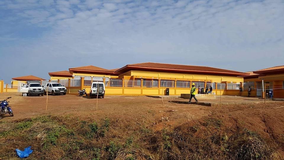 Banankoro: le président Alpha Condé inaugure le centre de santé amélioré