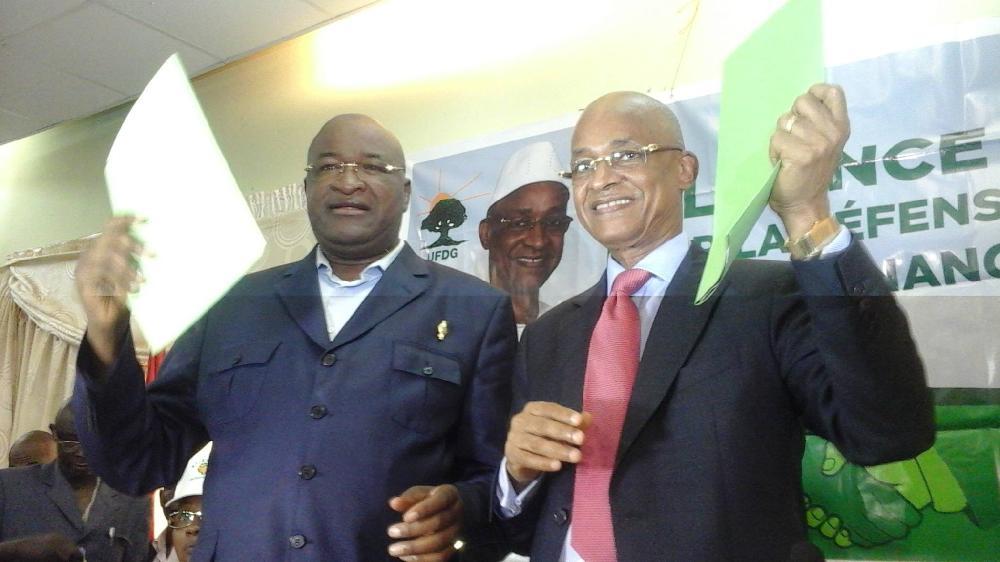 Mamadou Sylla, membre du cabinet du chef de file de l'opposition
