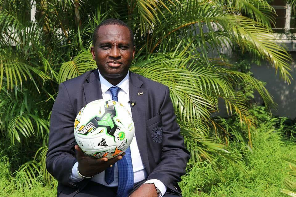 Finale de la Coupe de la CAF TP Mazembé - Superssports Uniteds: Antonio Souaré Commissaire