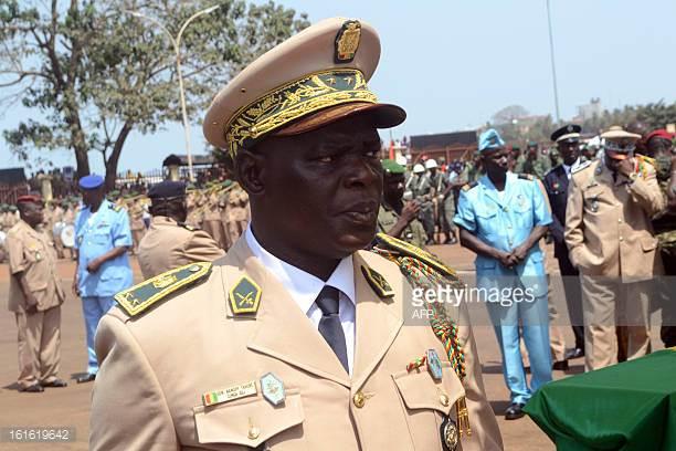 Le général Namory Traoré rencontre les militaires