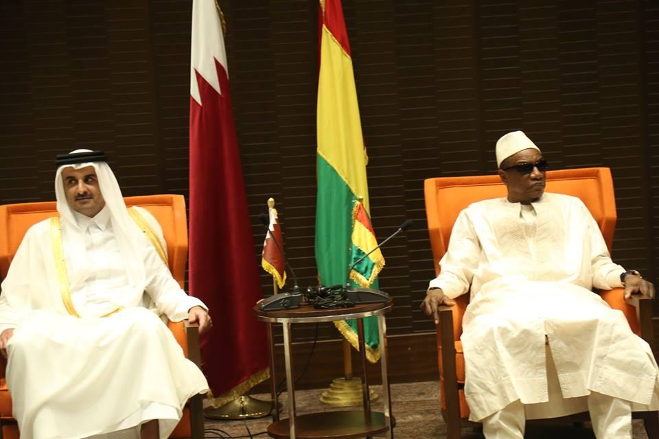 Visite de l'Emir du Qatar à Conakry: ept accords de coopération signés