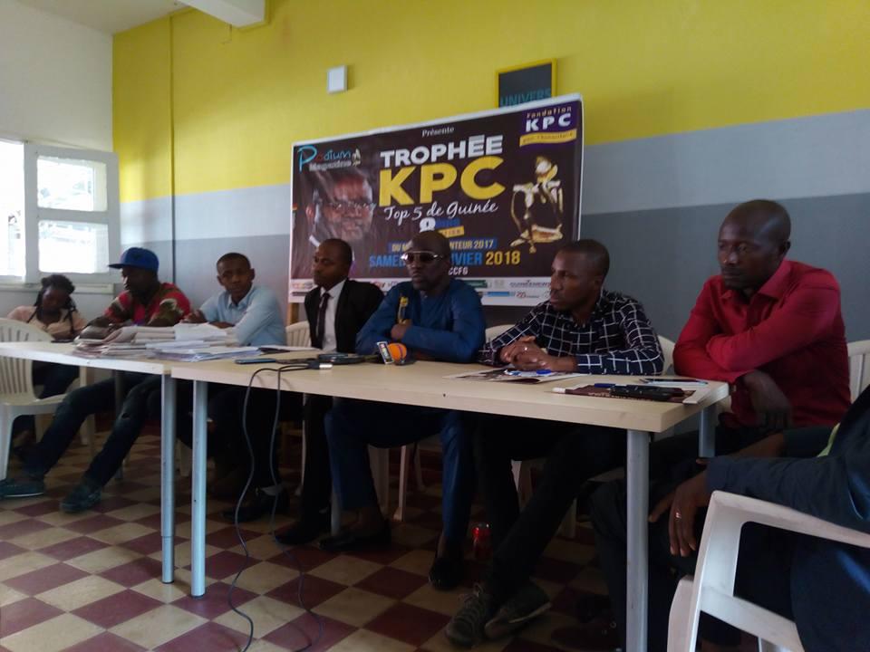 8ème édition top 5 de Guinée : Soul Bang's rafle le trophée KPC du meilleur chanteur 2017
