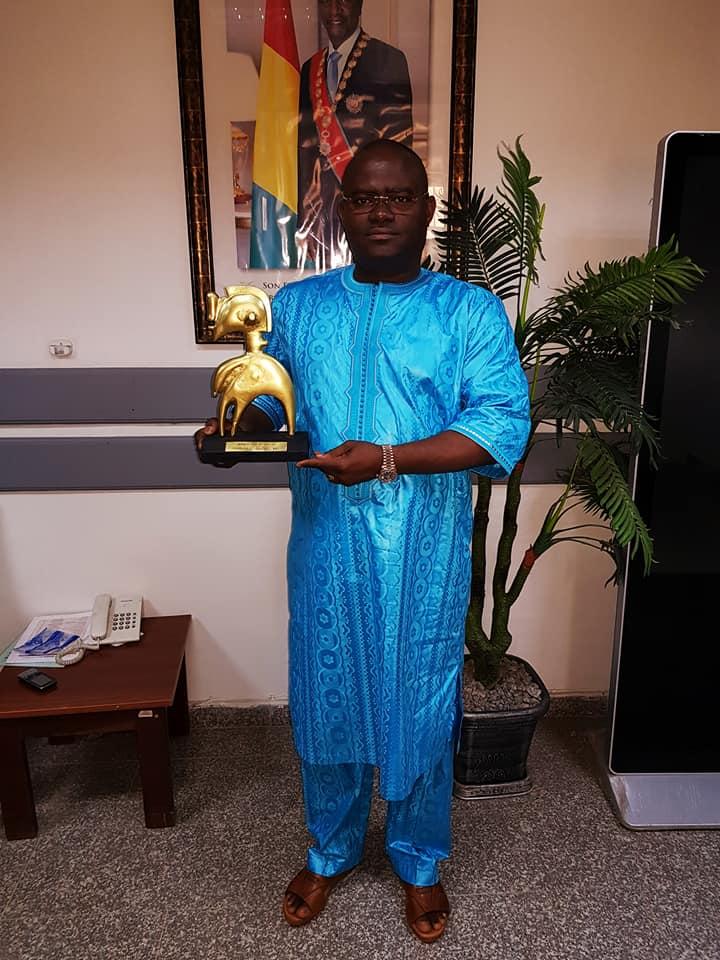 Nimba d'or 2017 : Kerfalla Camara KPC distingué meilleur manager sportif de l'année 2017