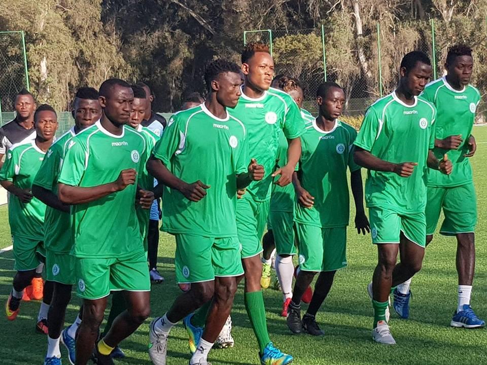 Le Hafia FC à Freetown pour une mise à vert