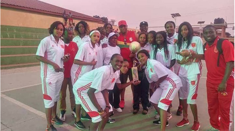L'équipe féminine du Horoya AC règne sur le Baskette ball en Guinée