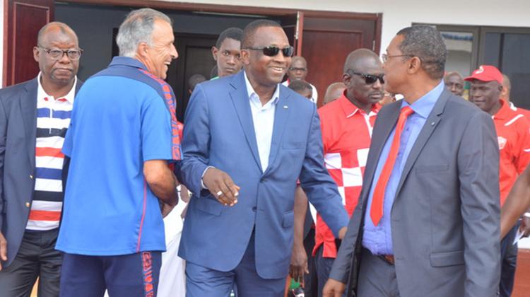 Antonio Souaré tient à protéger les joueurs du Horoya Ac