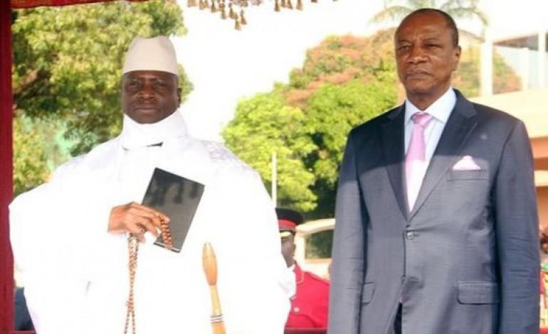 Et si Alpha Condé offrait l'asile à  Yaya Jammeh ?