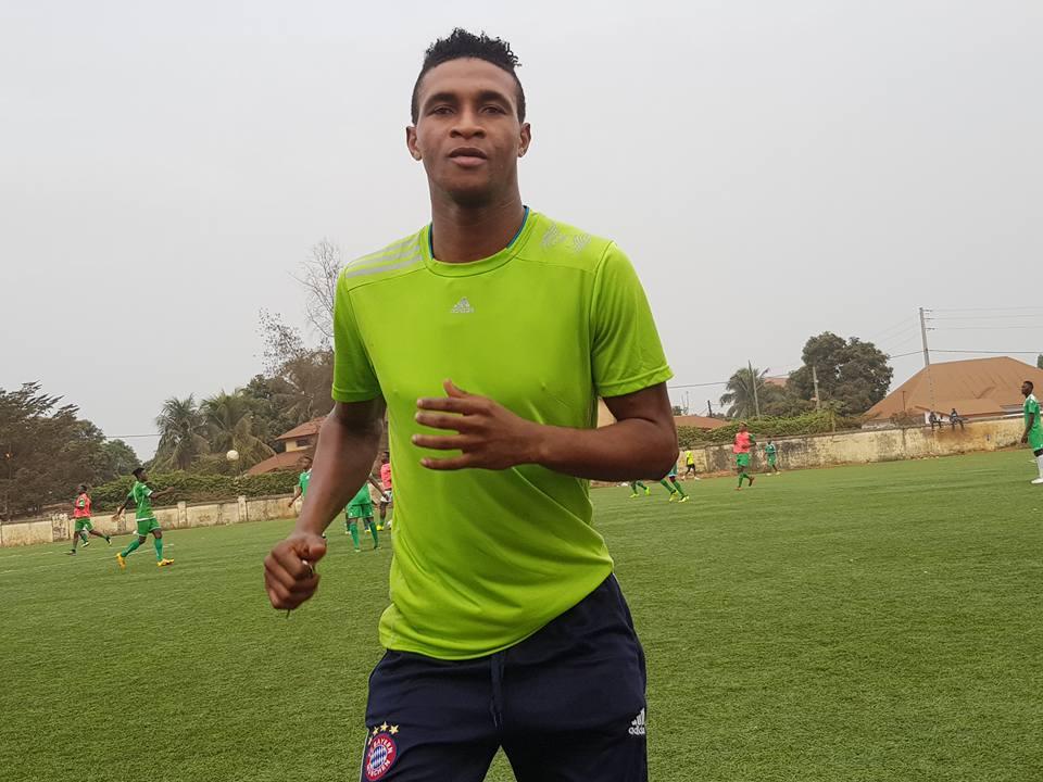 HAFIA FC: Jean Mousté a repris l'entraînement