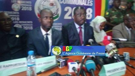 Elections communales: les résultats définitifs du scrutin proportionnel de 16 circonscriptions rendus publics par la CENI