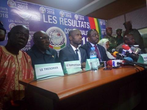 Guinée: premiers résultats très partiels des élections locales