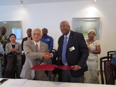 Coopération : Le Japon finance la rénovation de l'Ecole Primaire Matam-Lido II à Conakry