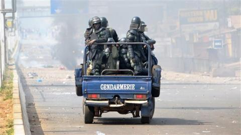 Guinée: un gendarme tué dans une manifestation