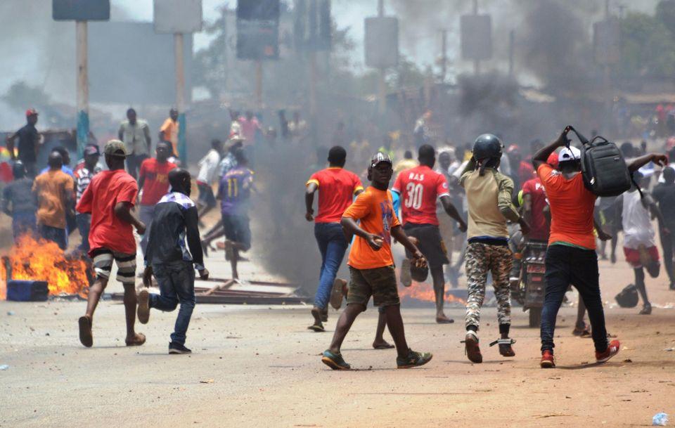 A Conakry, la «grande marche pacifique» de l'opposition noyée sous les lacrymogènes