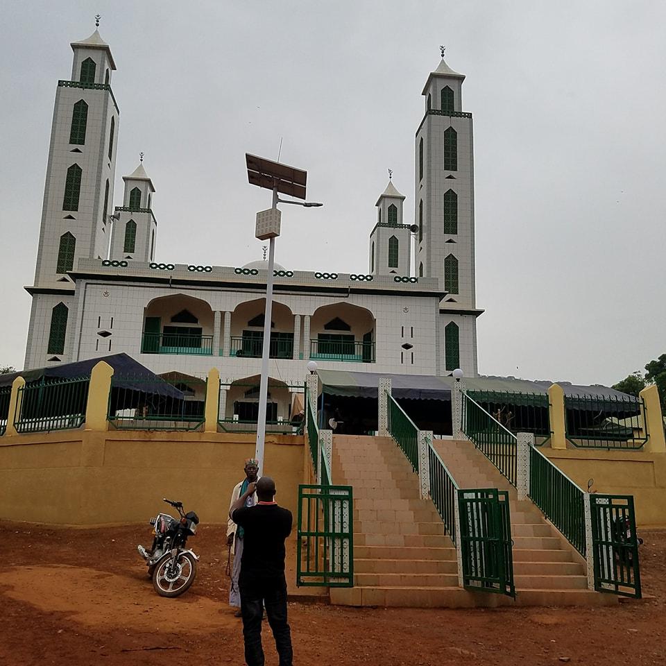 Réligion: arrivée de Cellou Dalein à Yimbering