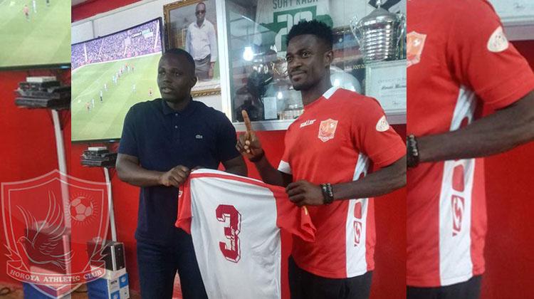 Godfred Asanté signe pour trois ans au Horoya AC