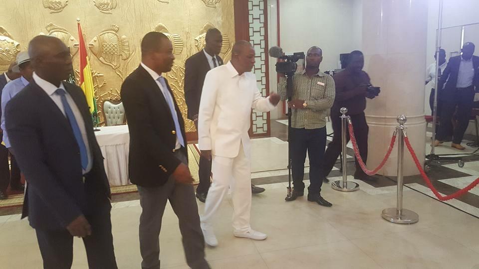 Dernière minute: Alpha Condé et Tibou Kamara à Lomé