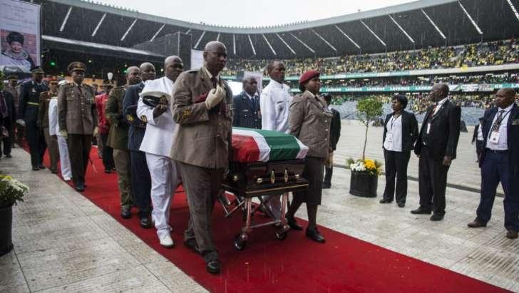 Dernier adieu à Winnie Mandela en Afrique du sud