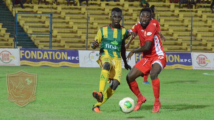 Ligue 1 Pro: le Horoya concède sa deuxième défaite de l'année