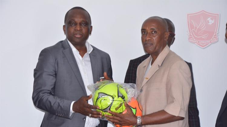 Antonio Souaré inaugure le siège de la Ligue Amateur et la Direction Technique de la Feguifoot