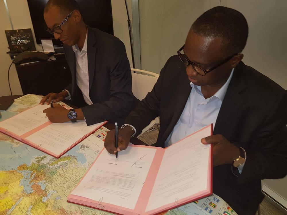 Signature d'un accord entre la Fédération Française de Football et la Fédération Guinéenne de Football