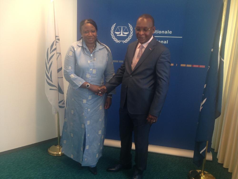 Le général Konaté accueilli en grande pompe à la CPI