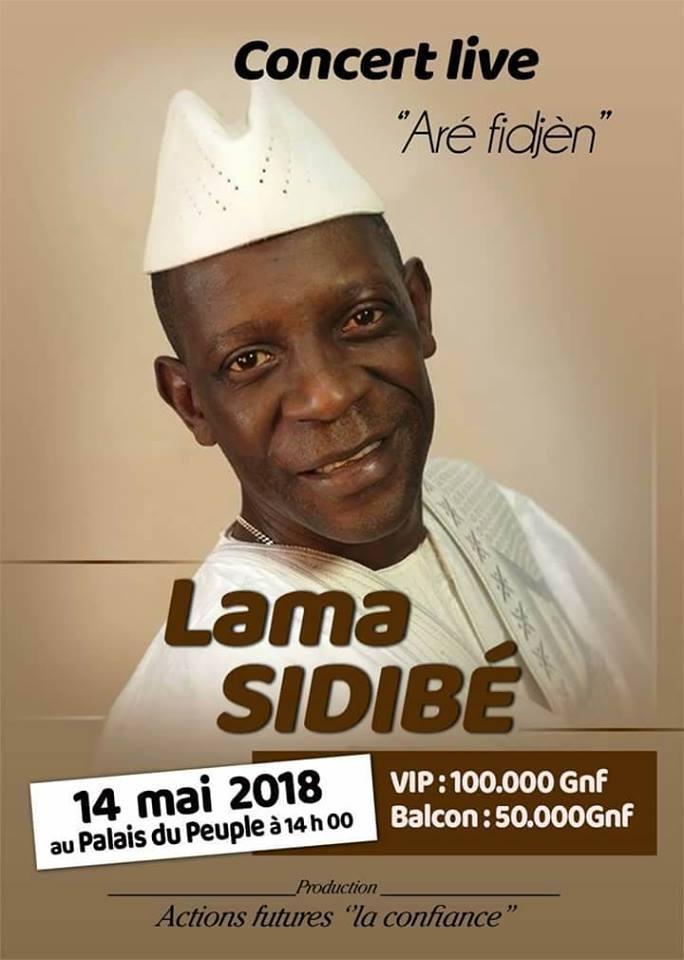 Culture: un grand concert de Lama Sidibé prévu au Palais du Peuple ce 14 mai