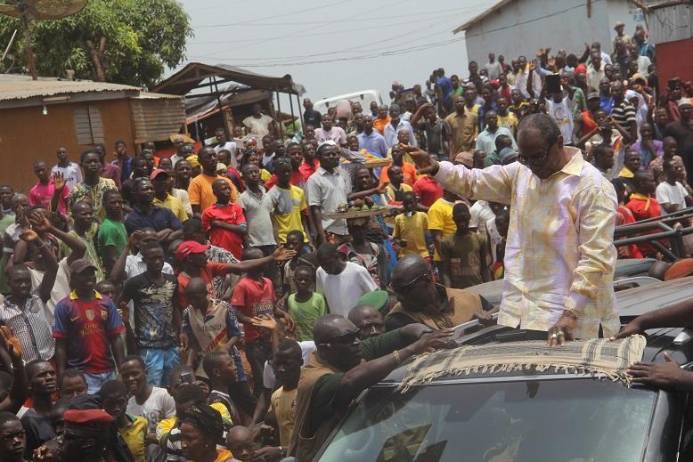 «  Notre ambition, c'est de produire pour la population », Alpha Condé à N'Zérékoré.