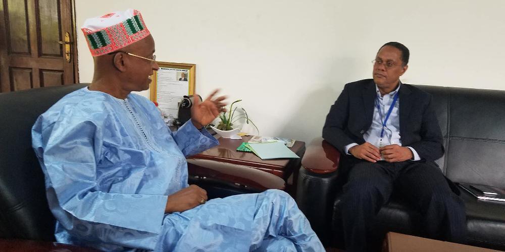Le représentant résidant du FMI en Guinée chez Cellou Dalein Diallo