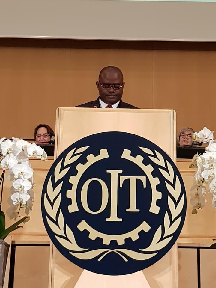 Conférence Internationale du Travail: Kerfalla Camara, KPC, représente la Guinée à Genève ( Photos )