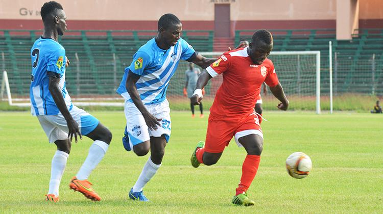 Ligue 1 Pro: Mandela et Sankhon du Horoya AC, les deux meilleurs buteurs de la saison