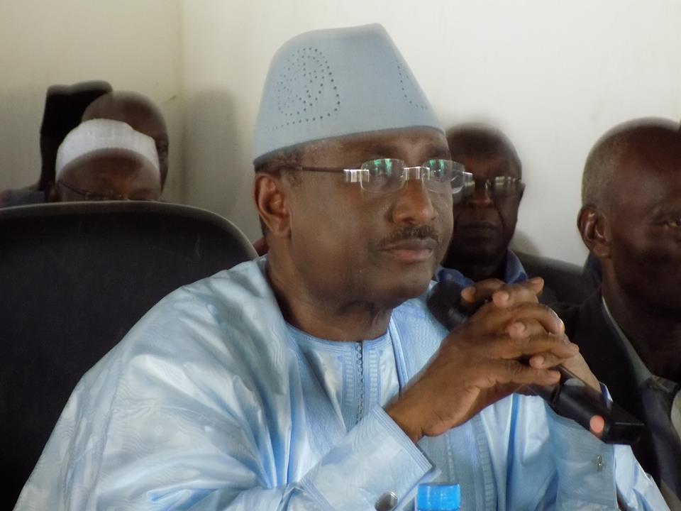 Les Condoléances du Président Sidya Touré suite au décès du Journaliste Abdoulaye Bah