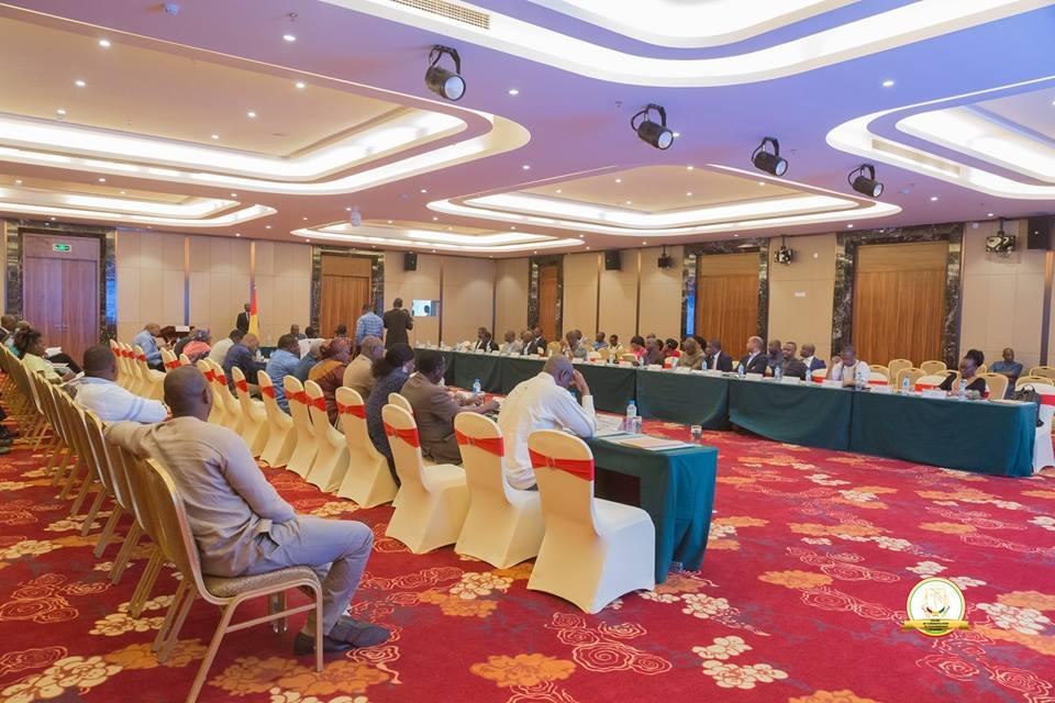Vidéo - les ministres du gouvernement Kassory en formation !