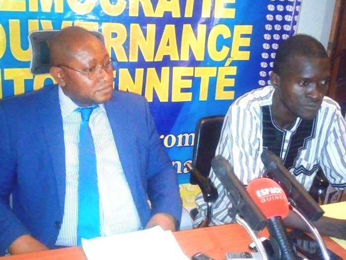 Justice: sale temps pour le leader du PADES, Ousmane Kaba
