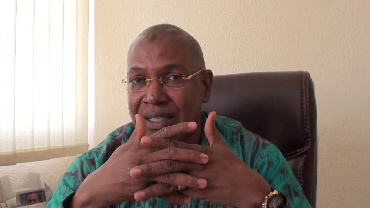 Le journaliste, Mamadou Dian Diallo, fait son entrée au Palais de la Colombe