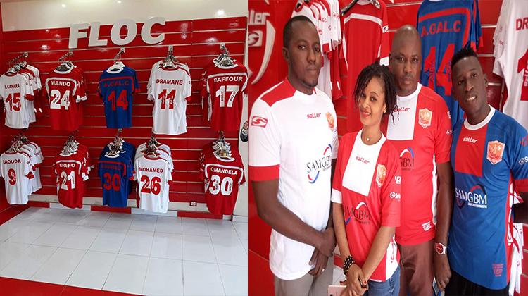 Allez acheter les nouveaux maillots du Horoya AC