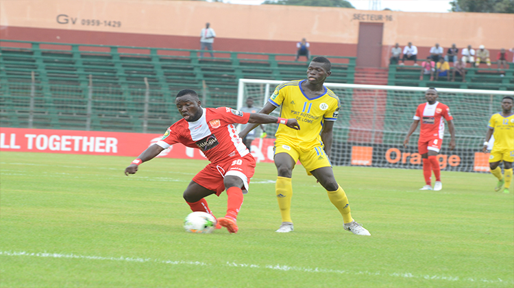 Ligue Africaine des Champions: Horoya AC 2 - 1 AS Togo Port