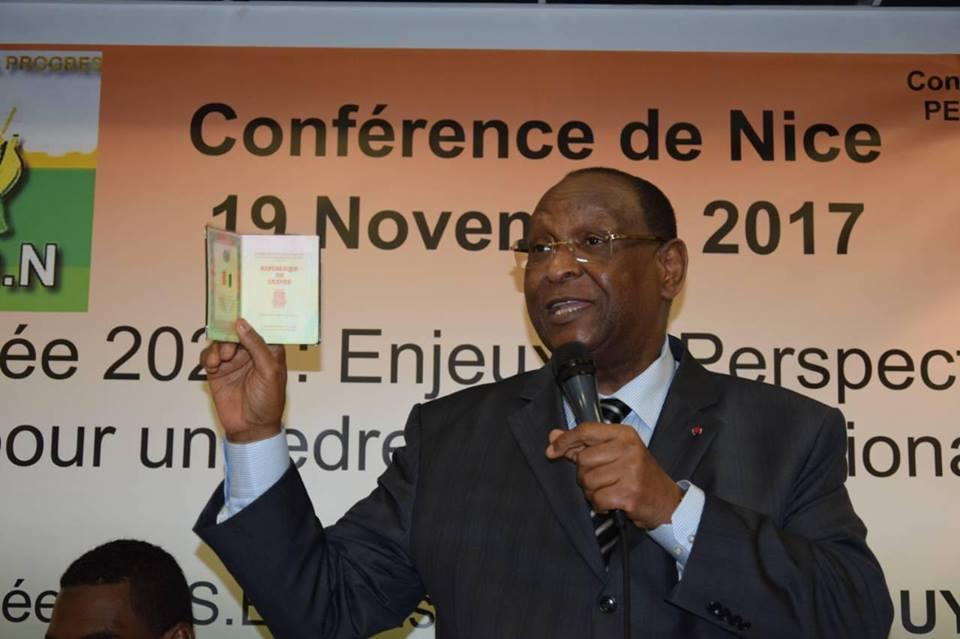 Politique: Lansana  Kouyaté raille Sidya Touré et donne des leçons à l'opposition guinéenne ( vidéo )