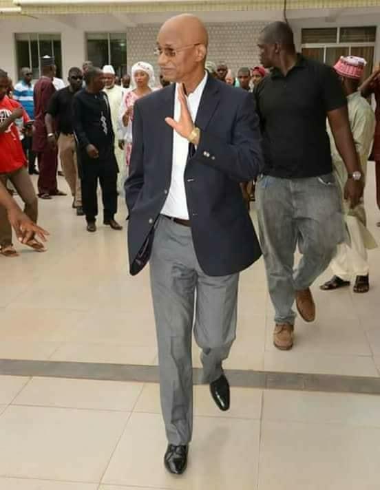 Le général Konaté: