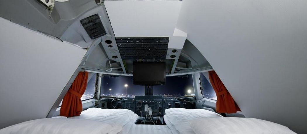 Passez une nuit dans un ancien Boeing 747 transformé en hôtel en Suède