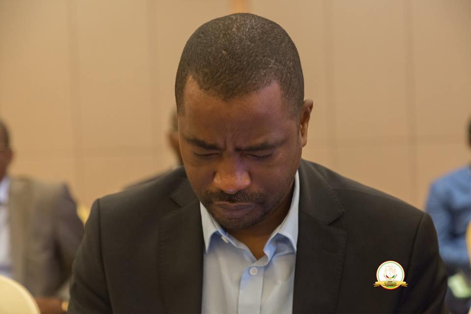 Le quotidien de Tibou Kamara au ministère de l'Industrie et des PME