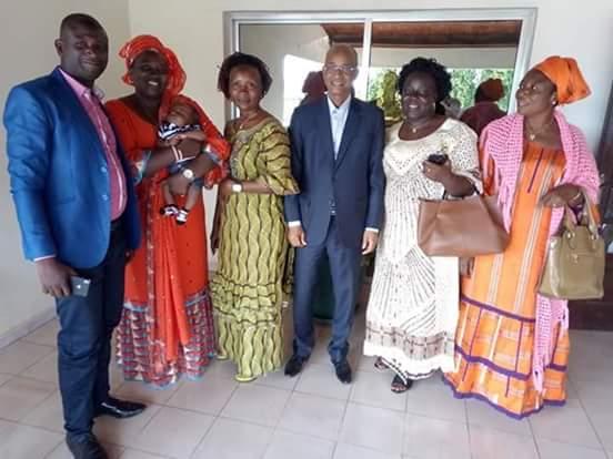 De nouveaux militants pour l'Union des Forces Démocratiques de Guinée